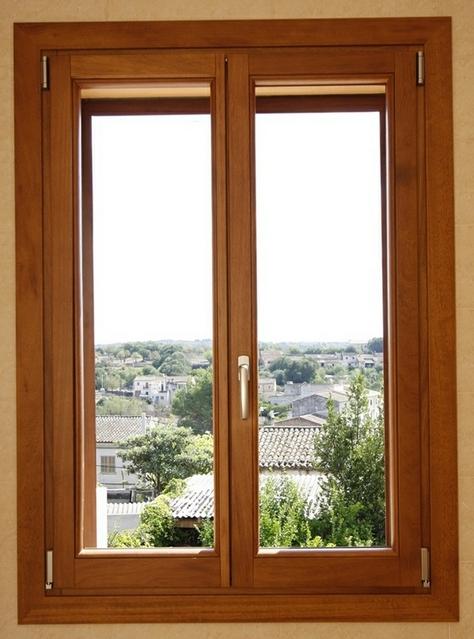 Ventanas de madera for Marcos de pvc para ventanas